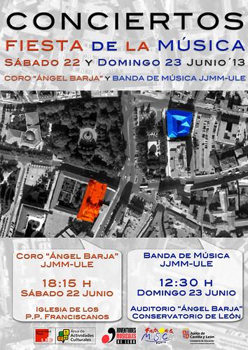 """FIESTA DE LA MÚSICA 2013 - CONCIERTOS DEL CORO """"ÁNGEL BARJA"""" Y LA BANDA DE MÚSICA JJMM-ULE by juanluisgx"""