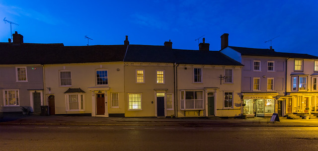 Thaxted High Street  by Mark L Edwards