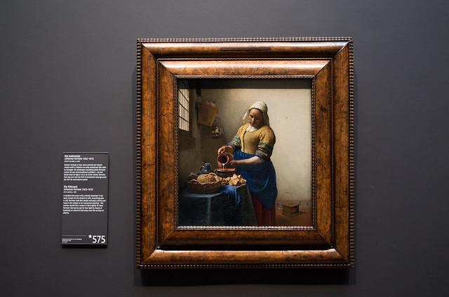 アムステルダム国立美術館 フェルメール 牛乳を注ぐ女