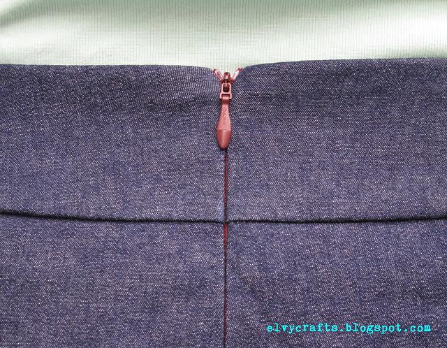 A-line skirt 3