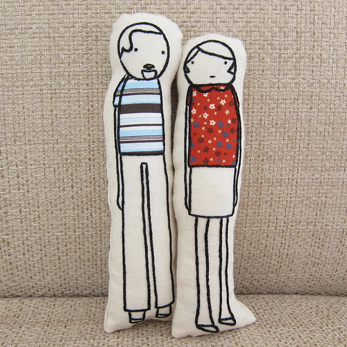 Iron Craft '13 #13 - Little Us Pillow Dolls