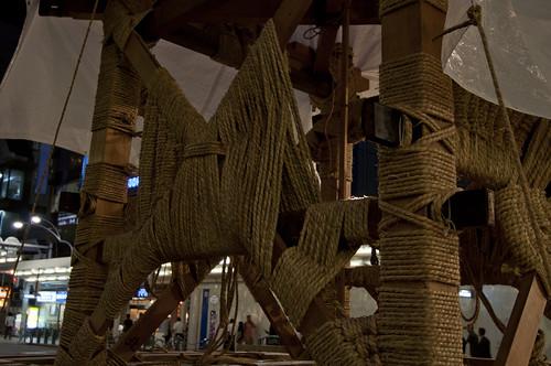 2013/07/10 京都・祇園祭 鉾建て