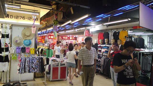 上海七浦市場