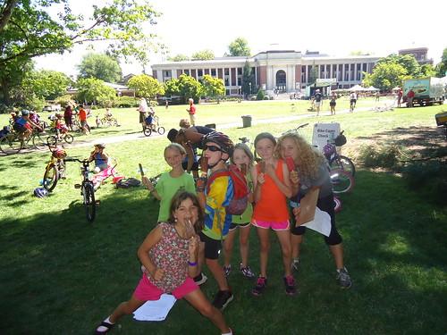 Cycle Oregon Weekend Ride - Bike Camp