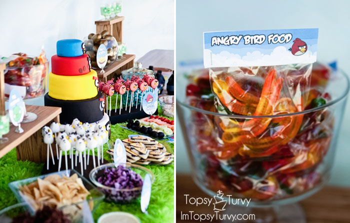 Angry birds birthday party ashlee marie real fun with real food angry birds birthday party table favors filmwisefo Choice Image