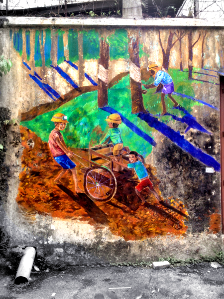 Ipoh Wall Paintings / Street Arts