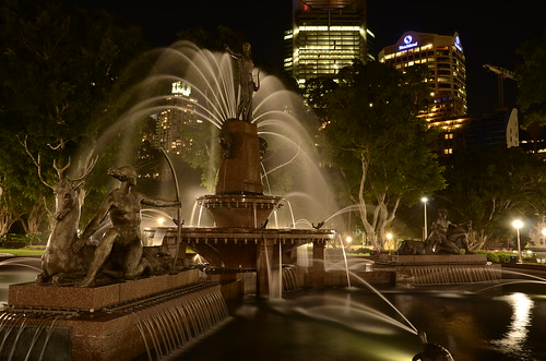 Archibald Fountain, Hyde Park, Sydney