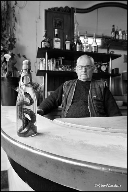 la bouteille de vipèrine