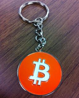 A Bitcoin Keychain/Keyring