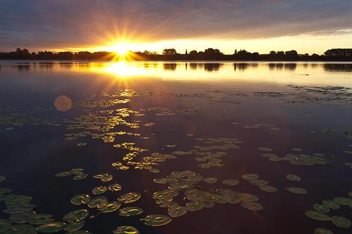 water sunrise canon germany deutschland niedersachsen eichsfeld ef1740mmf4lusm canoneosd canoneos5dmarkii lakeseeburg