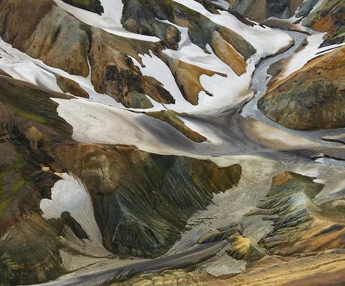 lava minerals helicopterlandmannalaugar snowhelicopterlandmannalaugar
