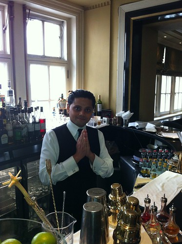 "Swanand ""Swani"" Korgaonkar, Head Bartender, Knight's Bar, Simpson's-in-the-Strand"