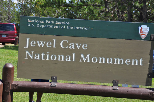 jewel cave sign