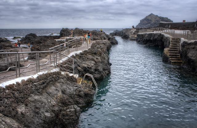 Garachico y sus piscinas naturales