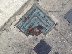 Alamo Mission Original Property Corner in San Antonio, Texas