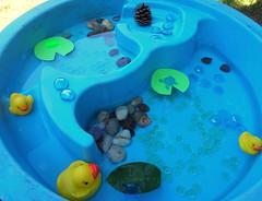 Pond Sensory Table