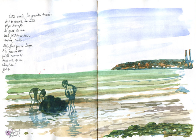 Normandy Holidays Homework #2 - spring tide