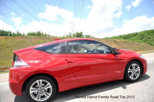 Honda Hybrid Family Road Trip 2 CR-Z Auto