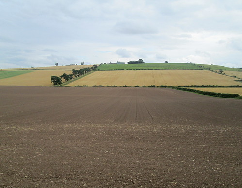 Flodden Memorial. View to Branxton Hill