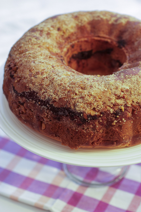 Sour Cream Coffee Cake #SundaySupper