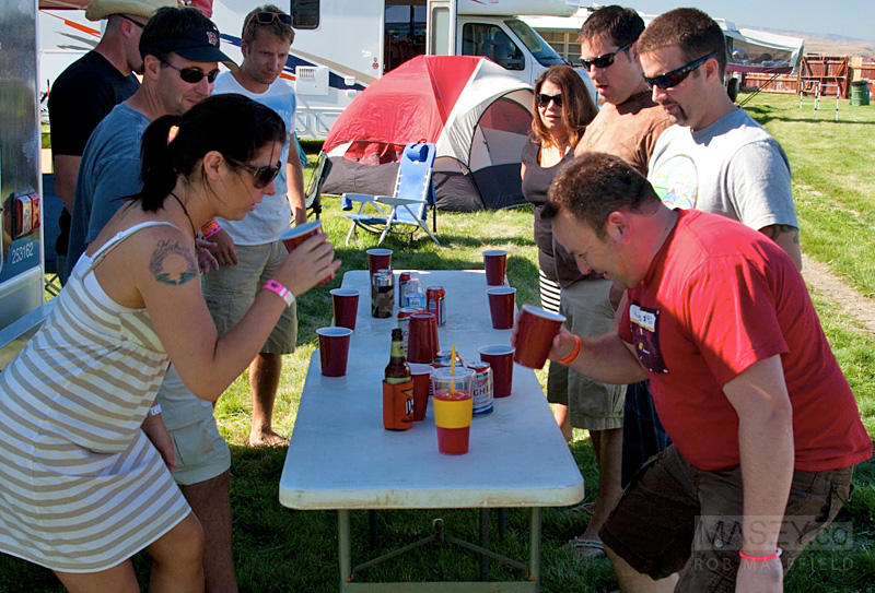 'Flip Cup' proved a big hit!