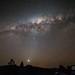Satellite farm Milky Way by Mikey Mack