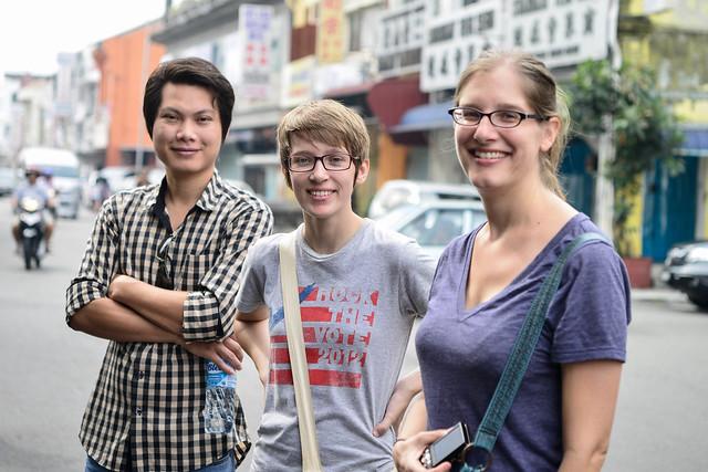 Ratana (Cambodia), Liz (US) & Vicky (Canada)