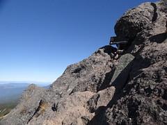 権現岳山頂