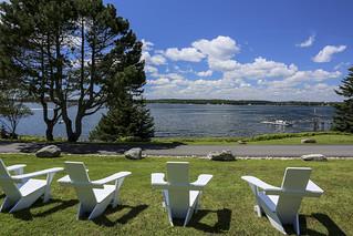Spurce Point Inn lawn chairs 2