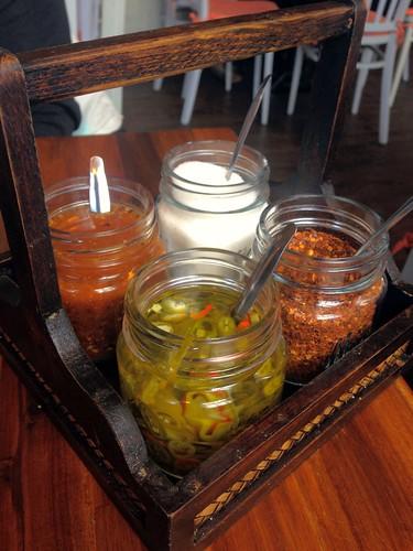 Thai Restaurant Condiments
