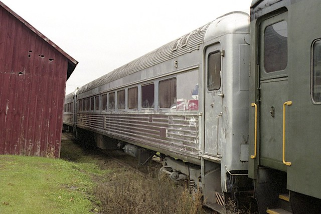 Old Budd Rail Car