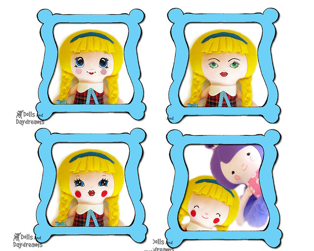 All of my Digitized Doll faces copy