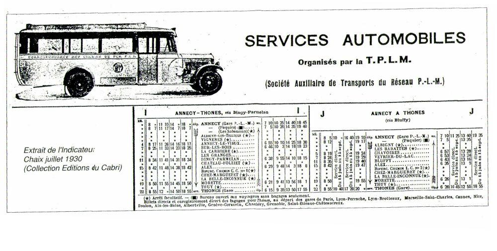 thones bus timetable
