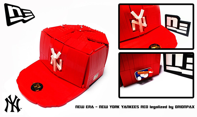 NEW ERA - NY Yankees red Orion Pax LEGO