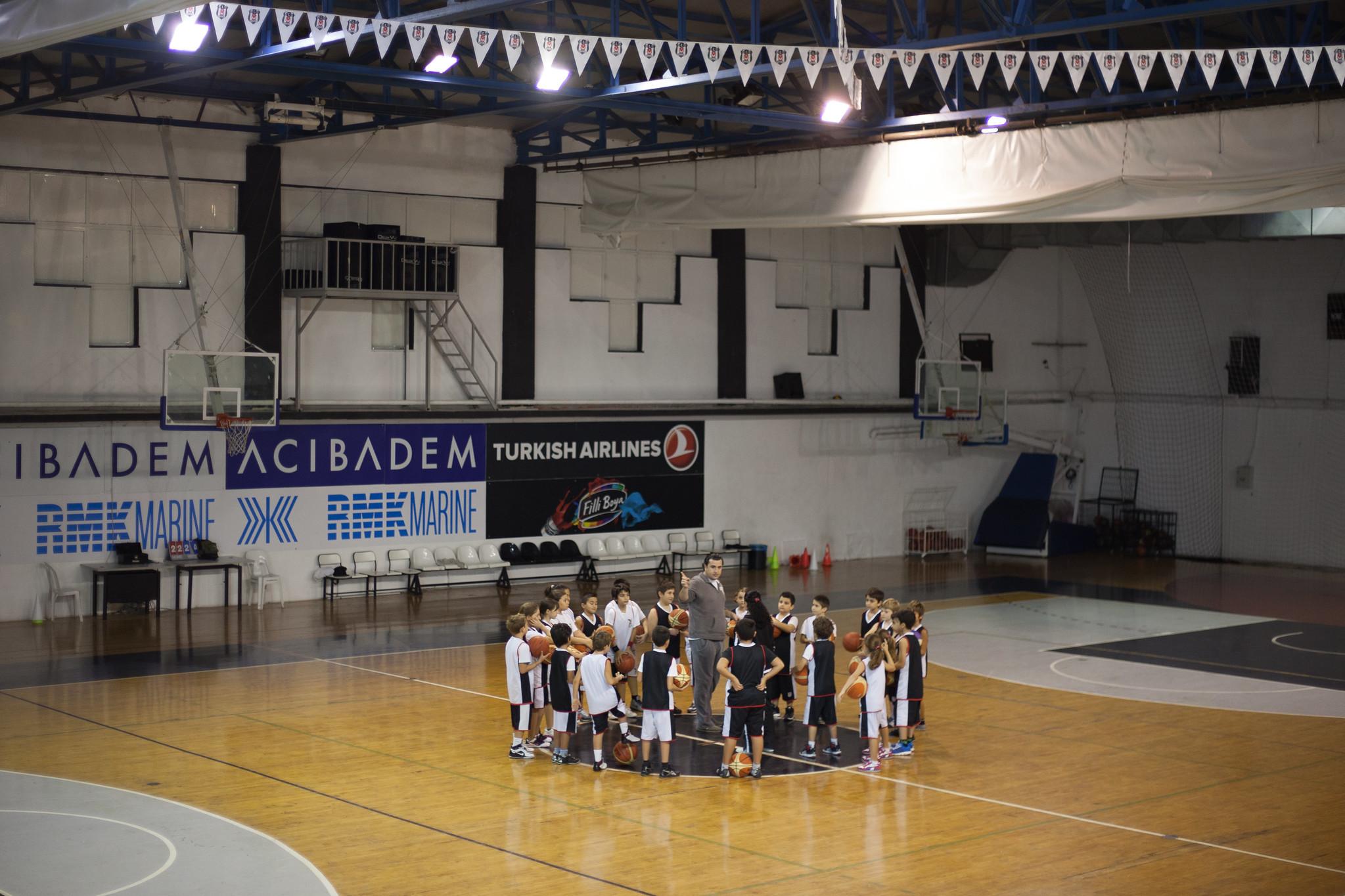 Beşiktaş basketball club.