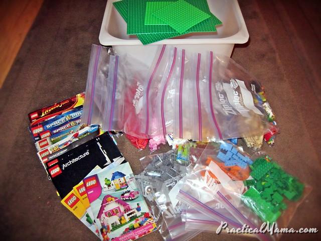 Organizing Legos
