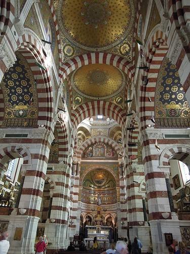 Basilique de Notre Dame de la Gardeの内部