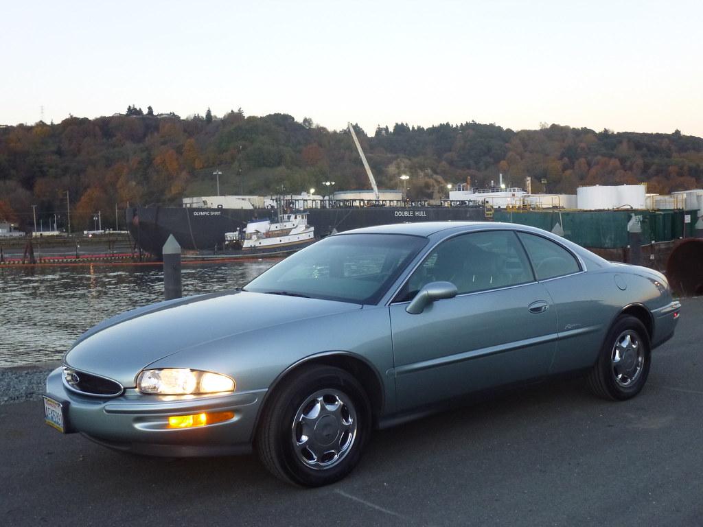 My new 1996 Riviera -- Light Jadestone Metallic, normally aspirated 10568171713_726c07fdc5_b