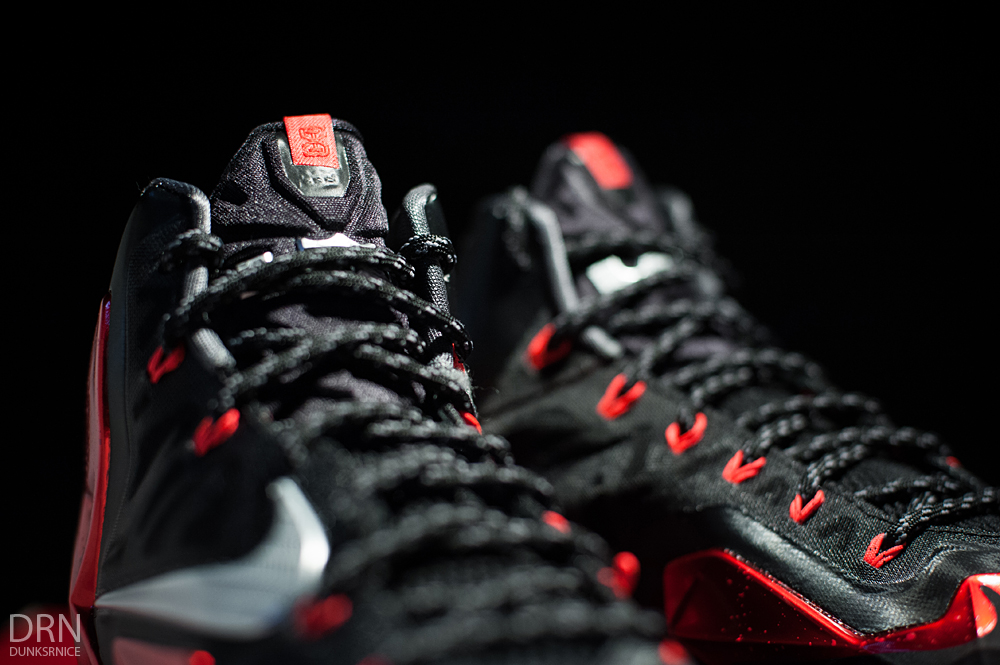 Nike Lebron XI - Miami Heat Away.