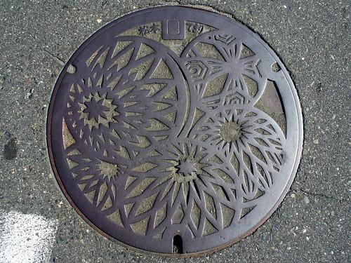 Matsumoto Nagano, manhole cover 4 (長野県松本市のマンホール4)