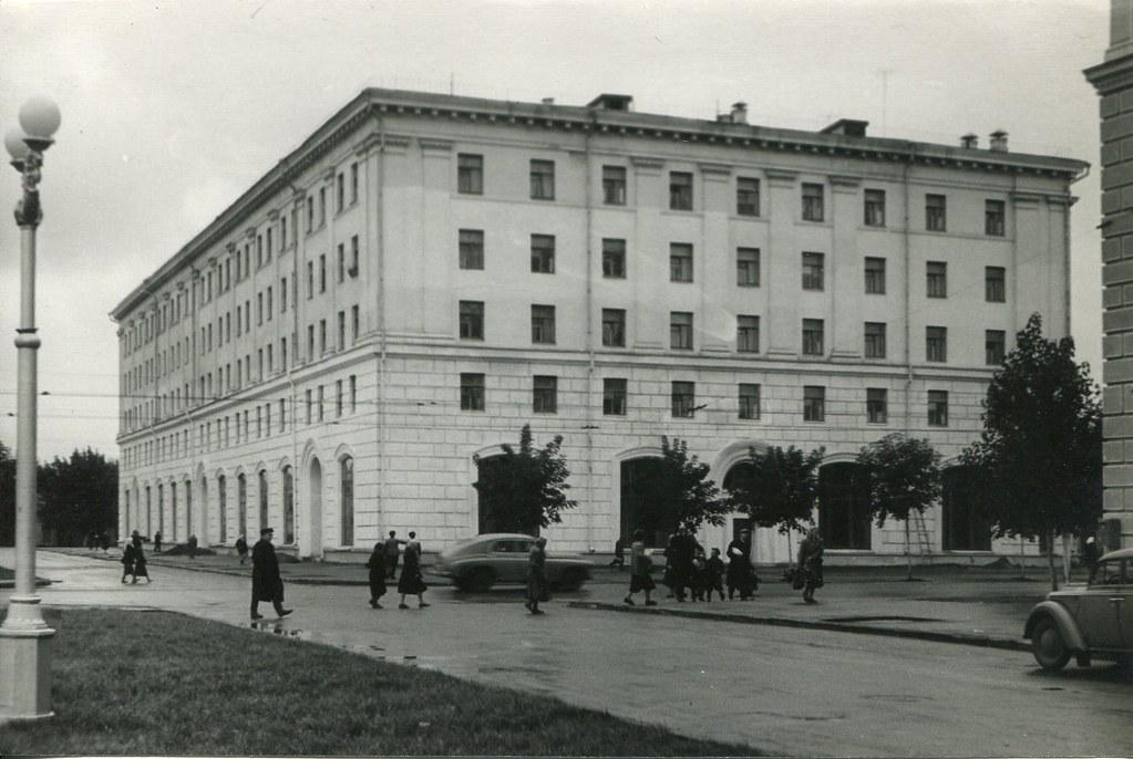 58_Жилой дом на Самарской площади_арх Щербачев П.А