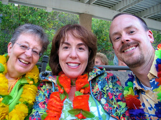 At our annual Luau