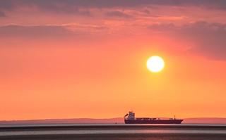 Port before Sundown