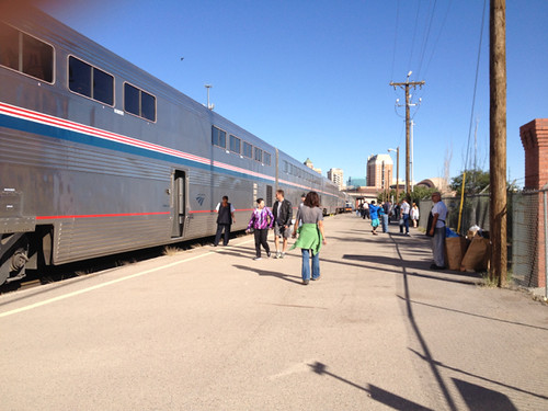 Train at El Paso