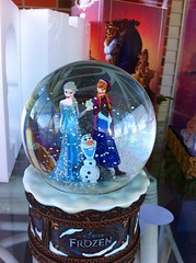 Frozen snow globe.