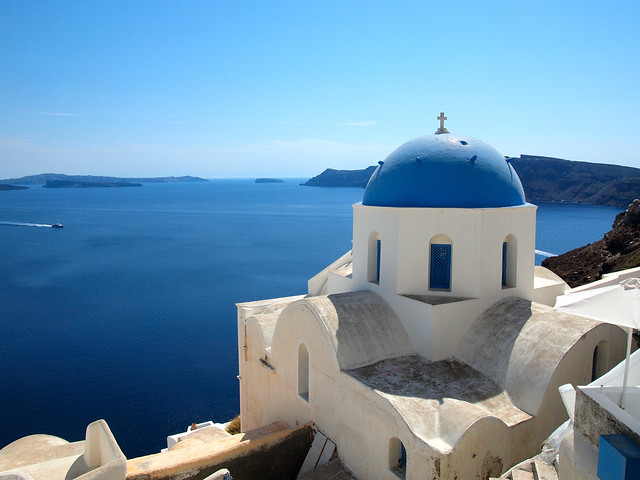 Church in Oia, Santorini