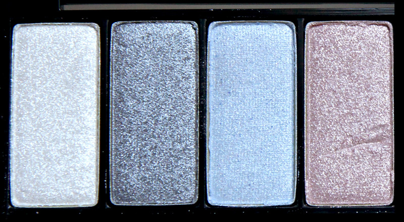Make up for ever Midnight glow 8 eye shadow palette2