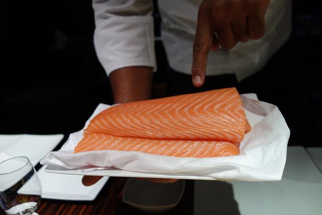 Sumosan Sushi salmon