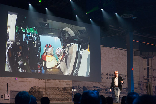 Pete Kelsey presenting the USS Arizona 3D Capture project at  AU2013