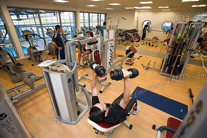 Salle De Musculation Et De Cardio Training De La Piscine D Flickr